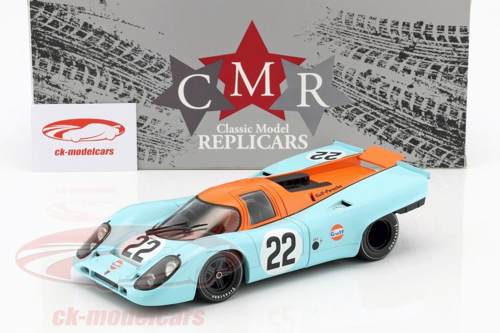 PORSCHE 917 K GULF CMR129 LE MANS 1970 CMR 1//18