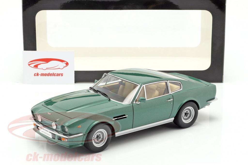 Autoart 1 18 Aston Martin V8 Vantage Year 1985 Green 70224 Model Car 70224 674110702248