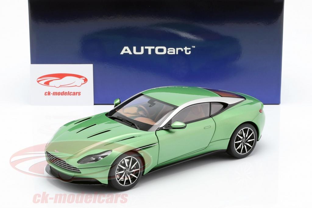 Autoart 1 18 Aston Martin Db11 Year 2017 Appletree Green 70269 Model Car 70269 674110702699