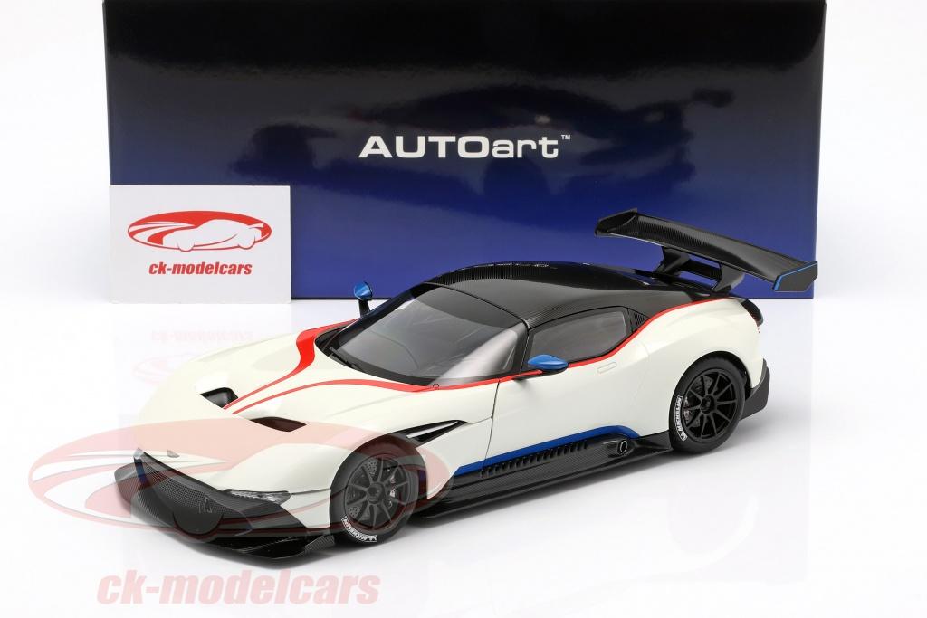 Autoart 1 18 Aston Martin Vulcan Year 2015 Stratus White 70261 Model Car 70261 674110702613