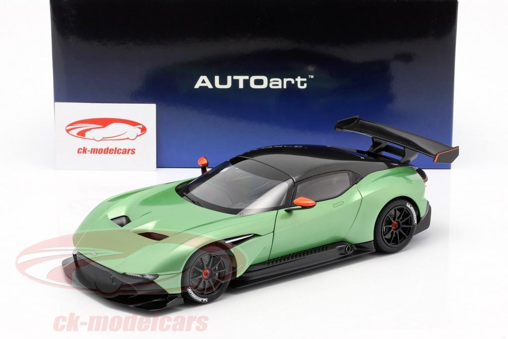 Autoart 1 18 Aston Martin Vulcan Year 2015 Apple Tree Green Metallic 70263 Model Car 70263 674110702637