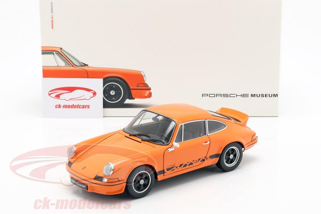 Porsche 911 Carrera RS 2.7 Orange 118 Welly