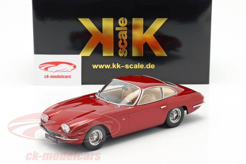 1:18 KK-Scale  *NEW* Lamborghini 400 GT 2+2 rot-metallic