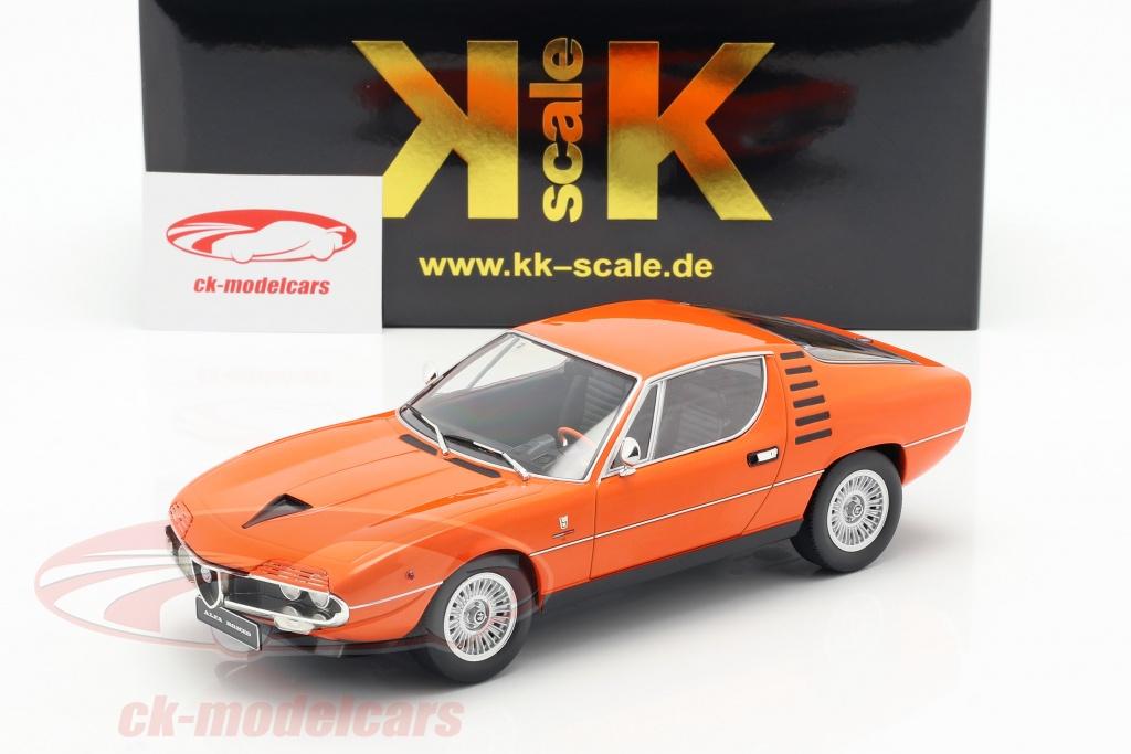 1:18 KK-Scale Alfa Romeo Montreal 1970 orange