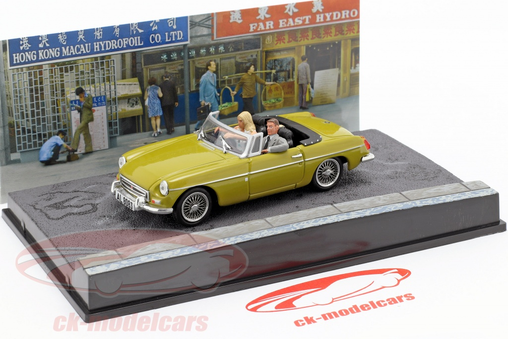 James Bond 007 The Man with the Golden Gun 1:43 Diecast Model Car KY13 MGB