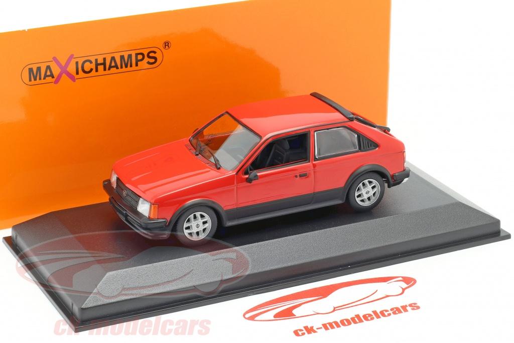 Opel Kadett D azul 3 puertas 1979-1984 1//43 Minichamps maxichamps modelo auto con