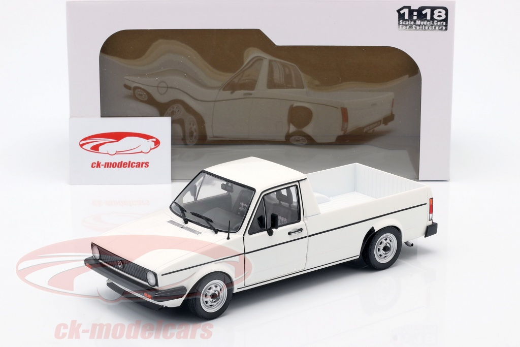 Solido 1 18 Volkswagen Vw Caddy Mk1 Year 1982 White S1803501 Model Car S1803501 421185320 3663506008801