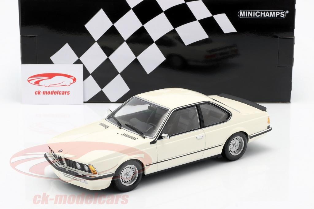 Minichamps 1 18 Bmw 635 Csi E24 Ano De Construcao 1982 Branco 155028102 Modelo Carro 155028102 4012138165496
