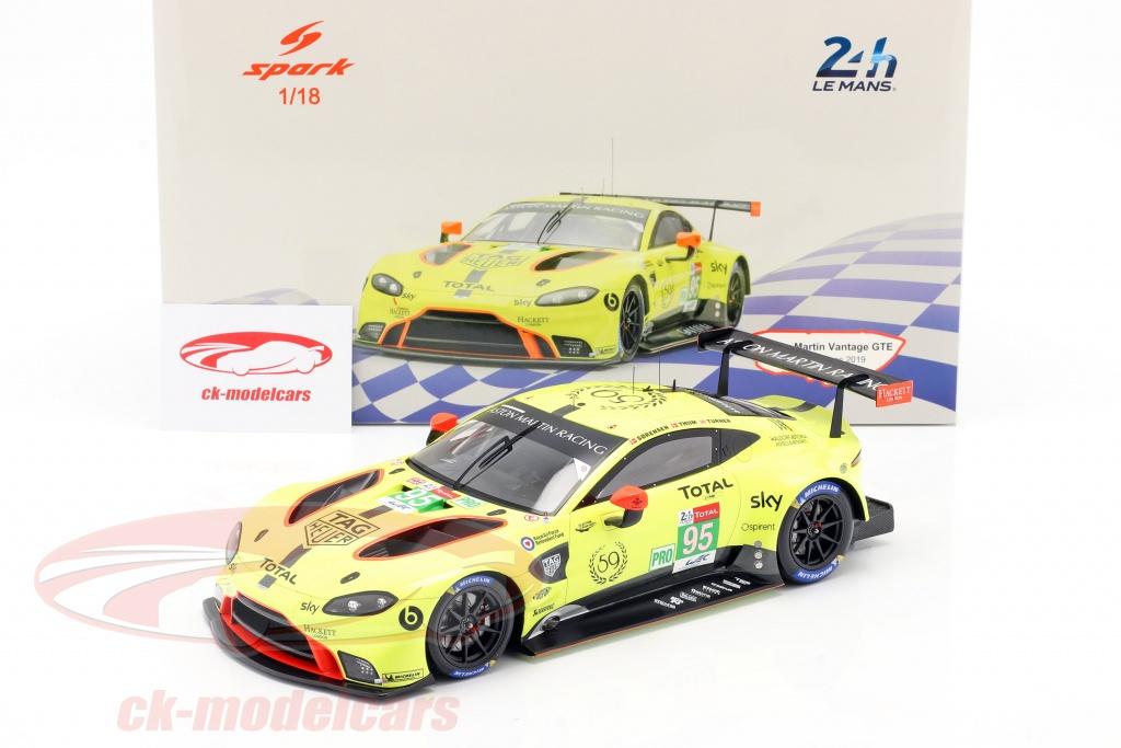 Spark 1 18 Aston Martin Vantage Gte 95 24h Lemans 2019 Thiim Sörensen Turner 18s438 Modellauto 18s438 9580006474384