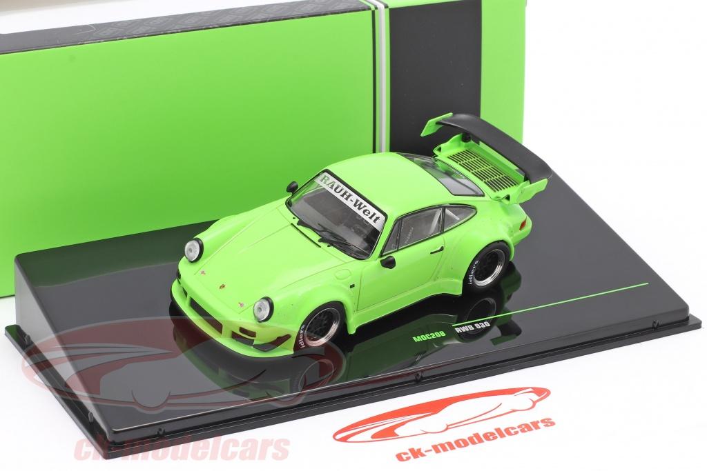 IXO IXOMOC208 Porsche 930 RWB vert jantes noire  1//43