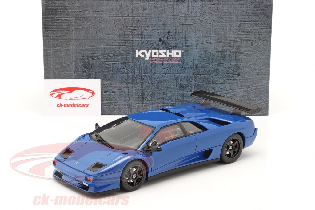 1//18 Kyosho Otto Lamborghini Diablo SVR Blue KSR18510BL for sale online