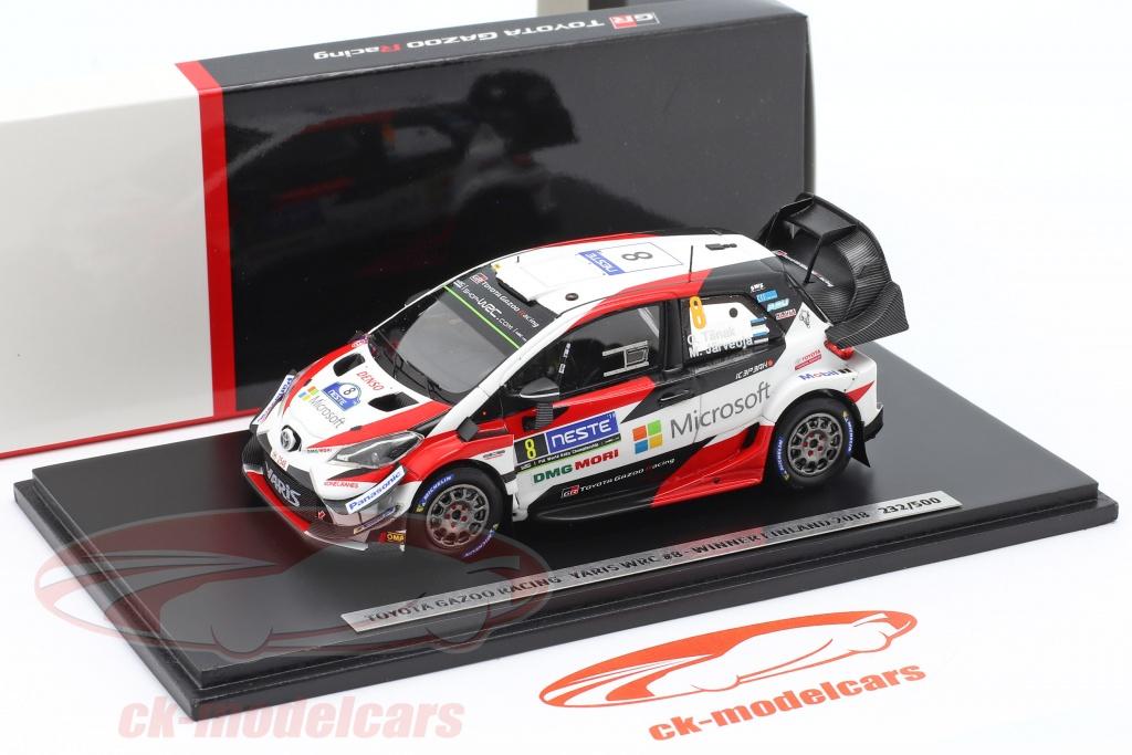 Toyota Yaris WRC Elfyn Evans winner rally Suecia 2020 1:43 Spark 6568 nuevo