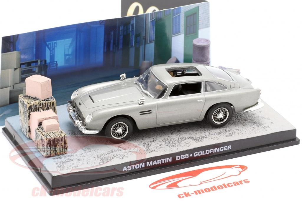 Ixo 1 43 Aston Martin Db5 James Bond Movie Goldfinger Car Grey Dy025 Model Car Dy025 Magjbdb5gold