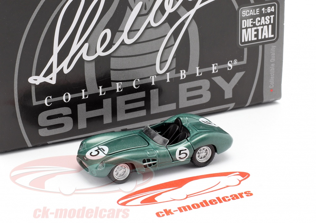 Shelby Collectibles 1 64 Aston Martin Dbr1 300 5 Winner 24h Lemans 1959 Shelby701 Model Car Shelby701 814770017362
