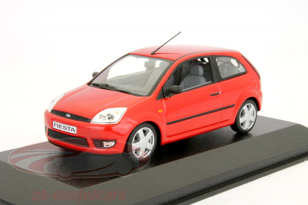 ck modelcars ck9991337 ford fiesta 3 door year 2001 red 1 43 minichamps. Black Bedroom Furniture Sets. Home Design Ideas
