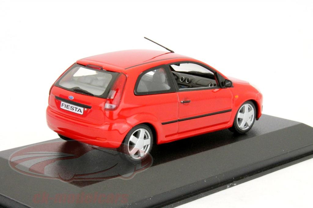 ck modelcars ck9991337 ford fiesta 3 door year 2001 red. Black Bedroom Furniture Sets. Home Design Ideas