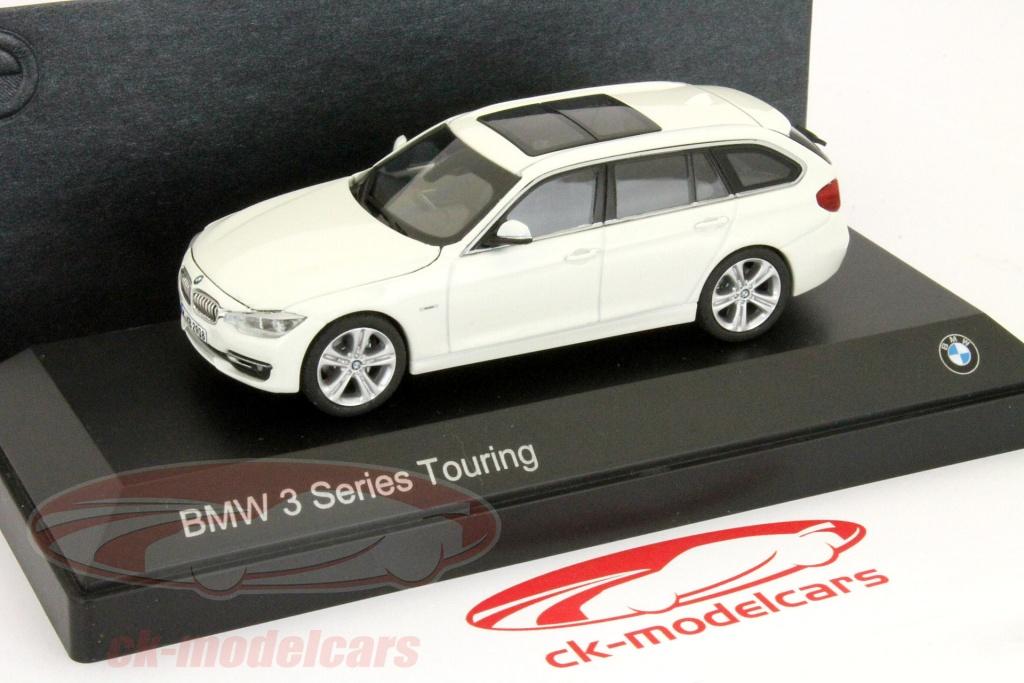 BMW 3 Series Touring (F31) Year 2012 Cream White 1:43 Paragon Models