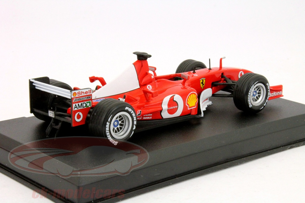 ck modelcars dd03 michael schumacher ferrari f2002 1 formel 1 weltmeister 2002 1 43 ixo altaya. Black Bedroom Furniture Sets. Home Design Ideas