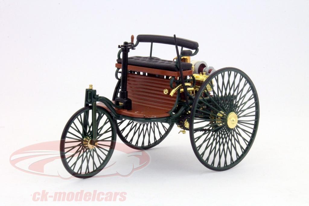 ck modelcars b66041415 mercedes benz patent motorwagen baujahr 1886 gr n 1 18 norev. Black Bedroom Furniture Sets. Home Design Ideas