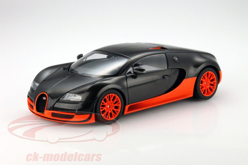 ck modelcars 70936 bugatti veyron 16 4 super sport year. Black Bedroom Furniture Sets. Home Design Ideas