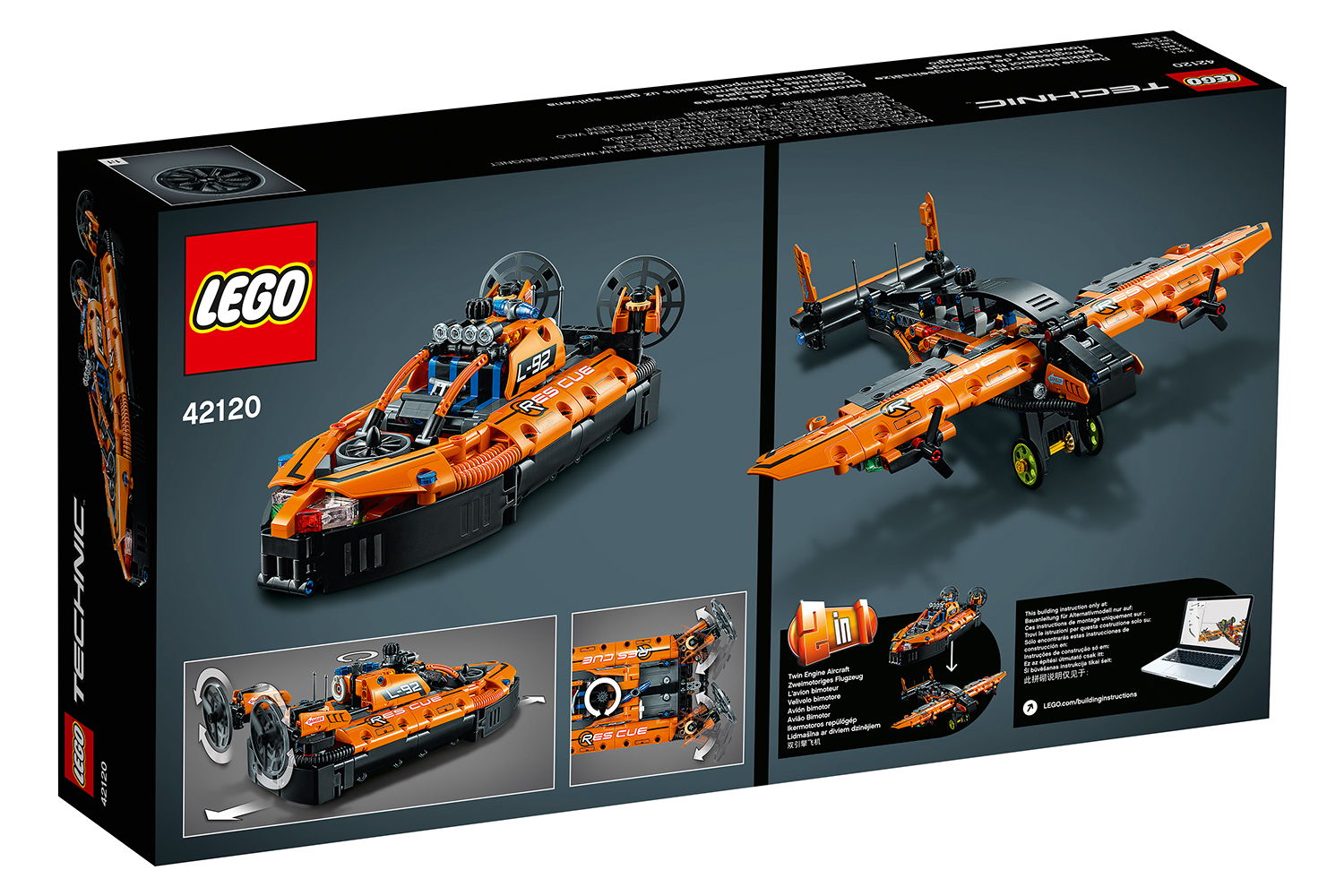 LEGO® Technic Hovercraft For Rescue operations