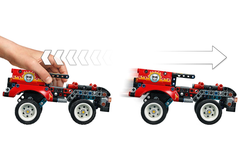 LEGO® Technic Stunt-Show mit Truck und Motorrad