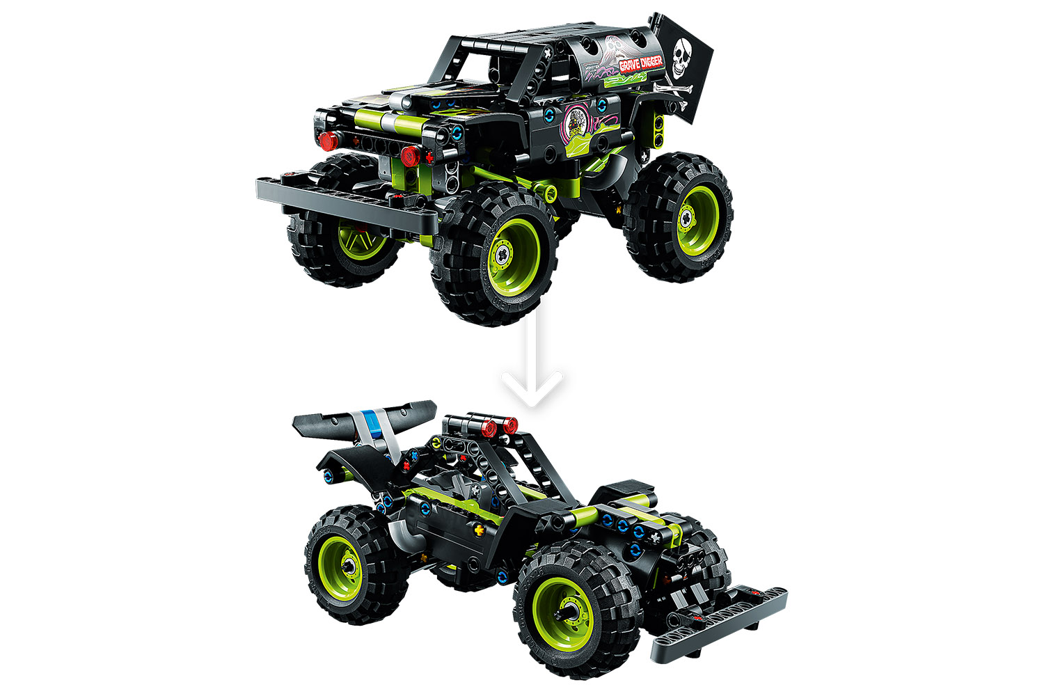 LEGO® Technic Monster Jam® Grave Digger®