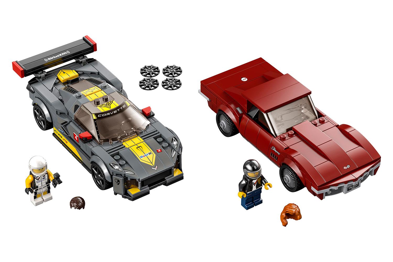 lego-speed-champions-chevrolet-corvette-c8r-1968-chevrolet-corvette-76903/