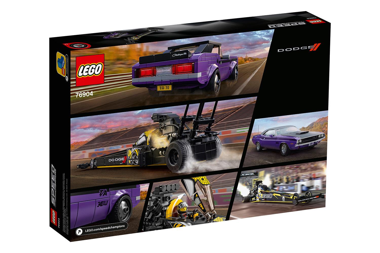 LEGO® Speed Champions Mopar Dodge//SRT Dragster & 1970 Dodge Challenger