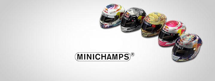 special offer mini helmets Sebastian Vettel helmets by  Minichamps in offer