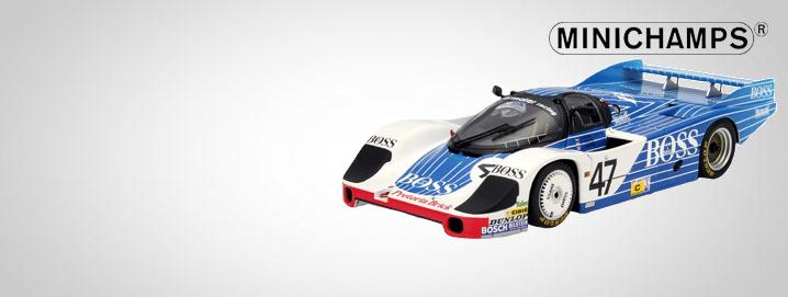 MINICHAMPS ck-modelcars was awarded as Minichamps retailer of the year 2009. We also offer limited Minichamps special editions.