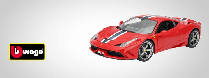 Bburago Big car small price: Bburago the most sold Ferrari model car worldwide.