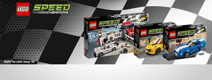 , LEGO® Speed ​​Champions NEU now!