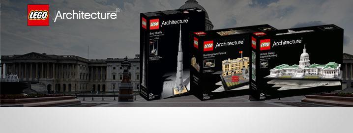 , LEGO® Architecture NUEVO ahora!