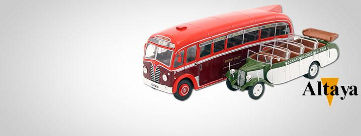 special offer Various buses in 1:43 greatly  reduced by Altaya!