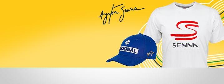 Ayrton Senna Collection Fanwear & Nacional Cap