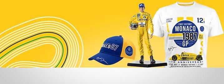 Ayrton Senna Collection Team Lotus Monaco GP Collection 1987