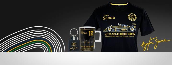 Ayrton Senna Collection Team Lotus Classic Collection