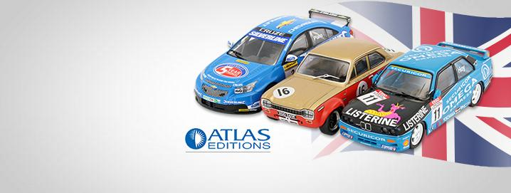 special offer British Touring Car Champions in 1:43 by Atlas
