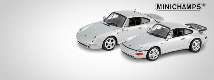 Limited collector's edition Porsche 911 Type 964 & 993 Turbo