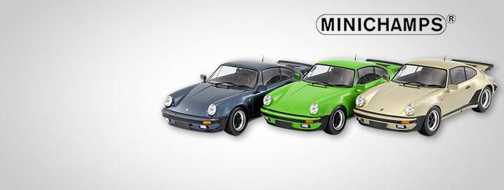 New Minichamps 911 1:12 Porsche 911 (930) Turbo available in  different colors STRENG LIMITED!