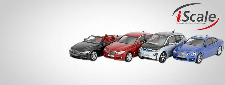 BMW special offer Numerous BMW models in 1:43 