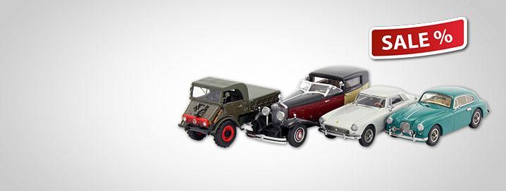 SALE %% Forskellige køretøjer i 1:43 Special Edition Philatelie Liechtenstein