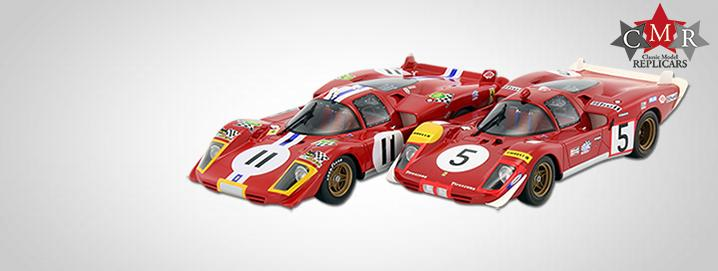 NEW: Ferrari 512 S News from CMR in 1:18