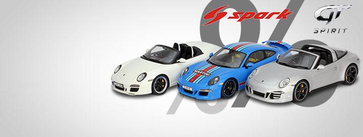 Porsche SALE %% Numerous Porsche in 1:18  greatly reduced!