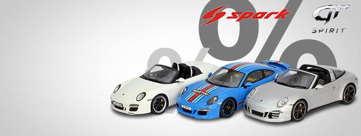 Porsche SALE %% Numerous Porsche in 1:18 