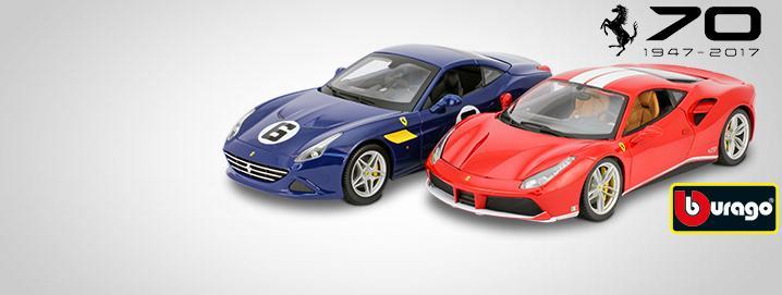 Lançamentos edição especial Ferrari  70º aniversário  1:18 Bburago