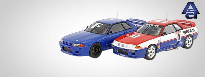 AUTOart SALE %% Skyline GT-R (R32) 1:18  AUTOart as specialoffer