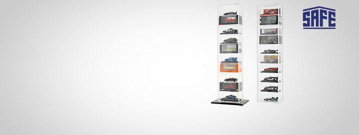 Vetrine auto Modello cabinet Torre per 10 modelli 1:43