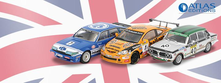 BTCC British Touring Cars 1:43 Atlas